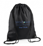 Mayflower Drawstring Bag